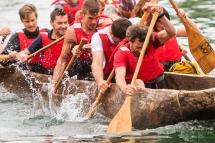4. Mednarodna regata deblakov / 4th International logboat regatta