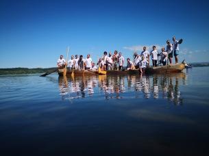 Na jezeru Rozkoš na Češkem. / By and on the lake Rozkoš in Chech Republic.