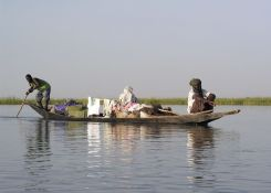 Na reki Niger v Maliju. / On the river Niger in Mali.
